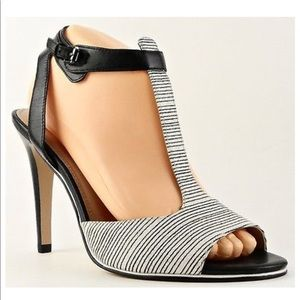 French Connection Nella Leather Designer Heel